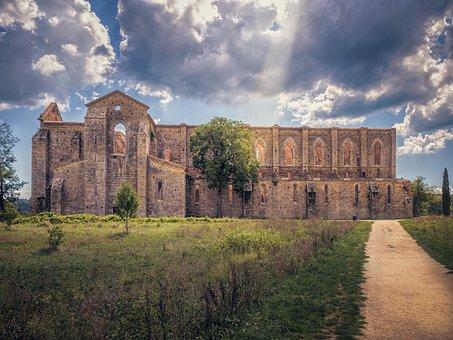 Church, Ruin, Architecture, Building, Old, Abbey