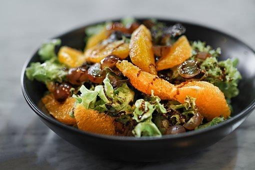 Citrus, Orange, Salad, Food, Fruit, Vitamins, Fresh