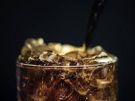 Black Background, Bubble, Caffeine, Cola, Cold