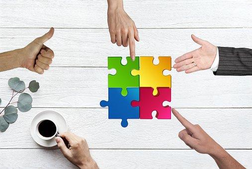 Team, Building, Work, Teamwork, Collaboration