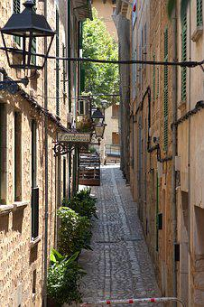 Historic Center, Road, Alley, Eng, City, Architecture