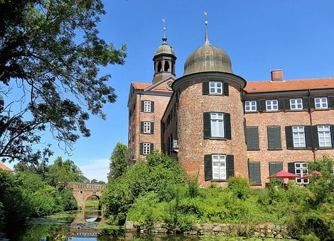 Castle, Eutin, Mecklenburg, Germany, Building