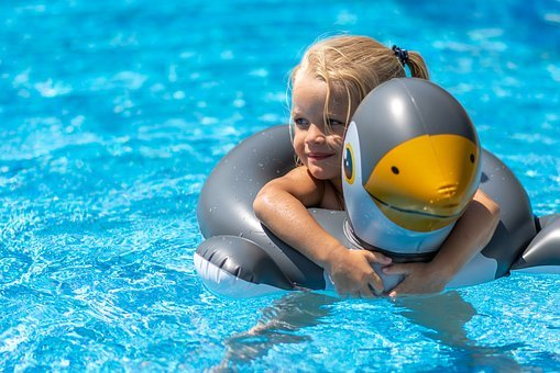 Swimming Pool, Girl, Summer, Water, Swimming, Pool