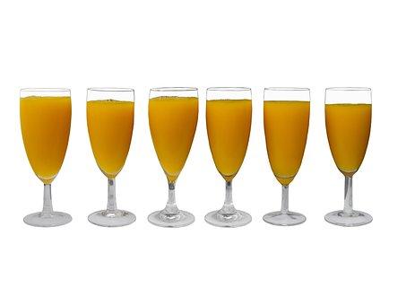 Eat, Drink, Juice, Orange Juice, Glass, Juice Glass