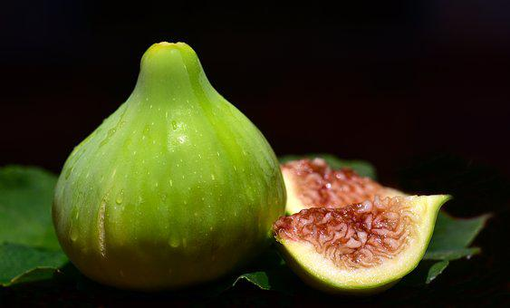 Fig, Ripe, Fresh, Green, Food, Healthy, Nature, Bio