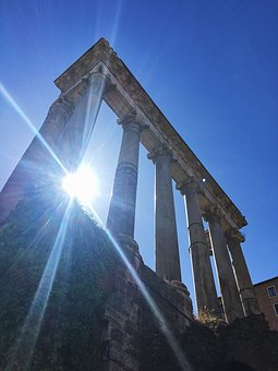 Roman Forum, Antiquity, Famous, Landmark, Italy