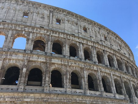 Colosseum, Colloseum, Antiquity, Famous, Landmark