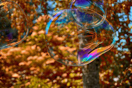 Soap Bubble, Huge, Large, Make Soap Bubbles, Wabbelig