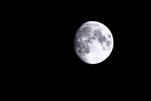 Moon, Night, Moonlight, Sky, Lunar, Astronomy