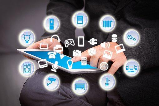 Smart Home, House, Technology, Multimedia, Tablet