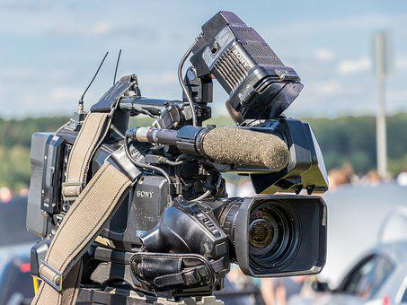 Camera, Video, News, Record, Equipment, Lens, Media
