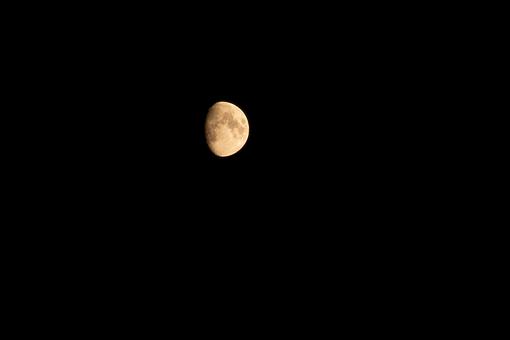 Moon, Black, Astronomy, Universe, Moonlight, Night Sky