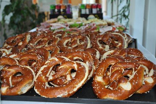 Pretzels, Bavaria, Eat, Salty, Laugenbrezeln, Pastries