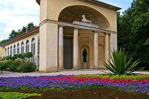 In The New Garden, Potsdam, Orangery, Egyptian Portal