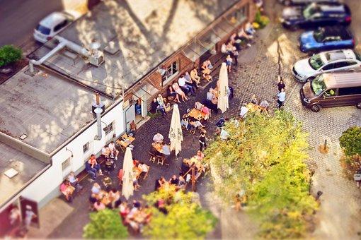 Restaurant, Human, Cafe, Dining Tables, Break, Drink