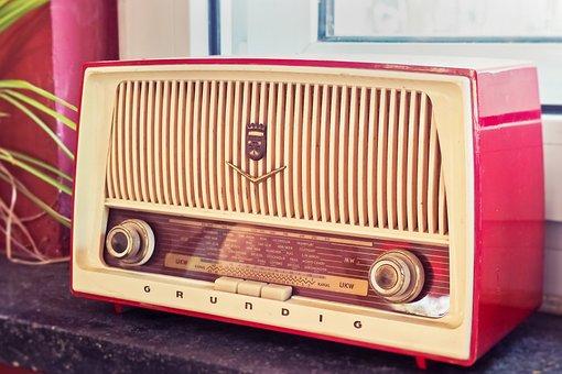 Radio, Vintage, Listen, Retro, Music, Frequency