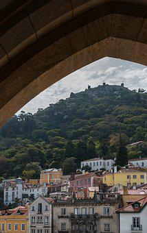Sintra, Castle, Fortification, Portugal, Travel, Old