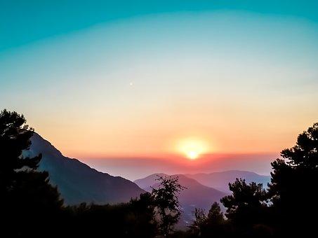 Tree, Beauty, Nature, Sky, Growth, Landscape, Mountain