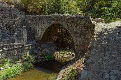Bridge, Stone, River, Architecture, Old, Nature