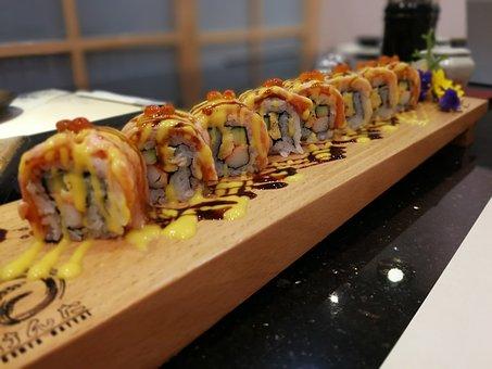 Sushi, Japan, Japanesefood, Japanese, Food, Salmon