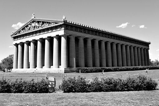 Parthenon, Centennial Park, Nashville, Tennessee