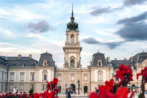 Festetics, Castle, Keszthely, Zala, Tower, Park