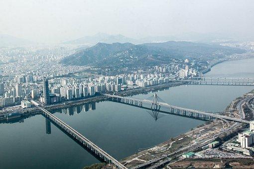 Seoul, Tower, View, Korea, South Korea, Architecture
