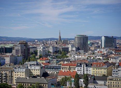 Vienna, Austria, Panorama, Vienna From Above