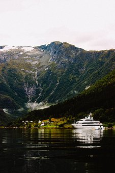 Norway, Fjord, Landscape, Nature, Mountains, Water