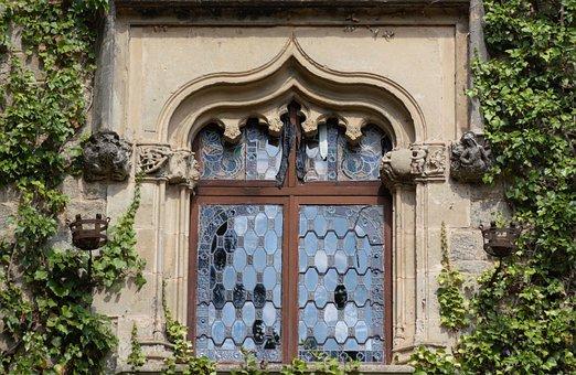 Window, Castell De Santa Florentina, Castle, Old