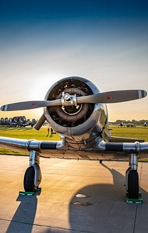 Fighter, Vintage, Ww2, Military, Aircraft, Plane