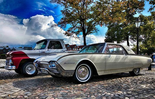 Ford Thunderbird, Ford, Thunderbird, Oldtimer, Auto