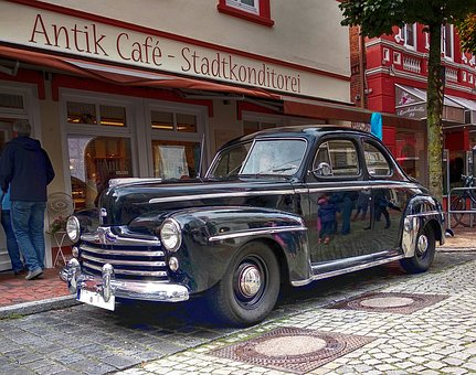 Ford, Oldtimer, Automotive, Classic, Vehicle, Old, Pkw