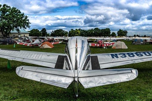 Aviation, Vintage, Plane, Fly, Aircraft, Propeller