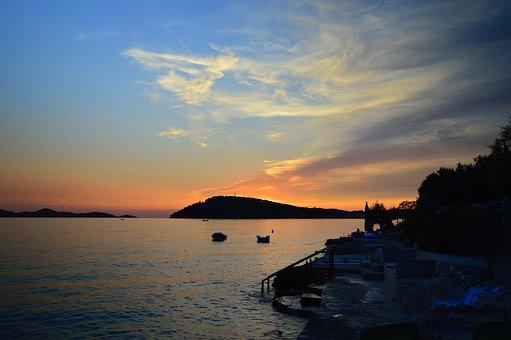 Croatia, Sea, Adria, Water, Marine, Island, City, Blue