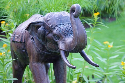 Thai Garden Elephant, Olbrich, Botanical, Gardens