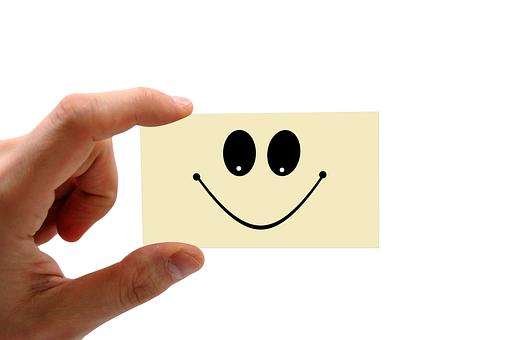 Feedback, Confirming, Balloons, Business Card, Smile