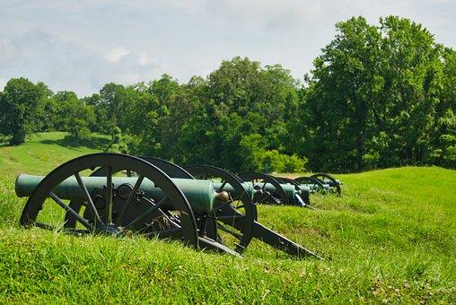 Artillery Position, Vicksburg, Mississippi, Cannon