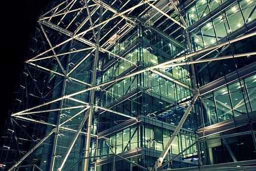 Scaffolding, London, Architecture, City, Construction