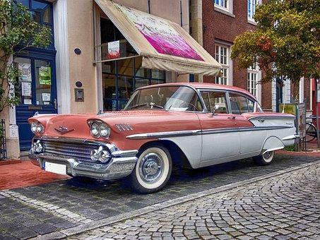 Chevrolet, Belau, Oldtimer, America, Auto, Classic, Usa