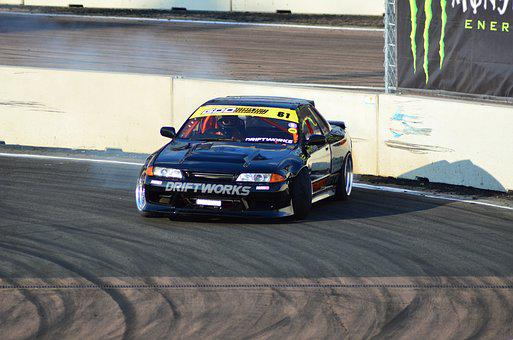 Drift, Auto, Motorsport, Speed, Drifting, Event