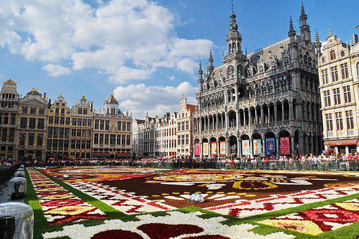 Grand Place, Brussels, Belgium, Travel, Europe