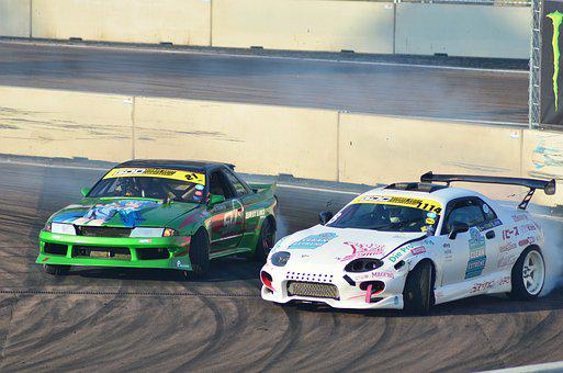Drift, Auto, Motorsport, Speed, Competition, Extremely