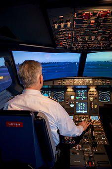 Jet, Cockpit, Aircraft, Flying, Sky, Pilot, Aviation