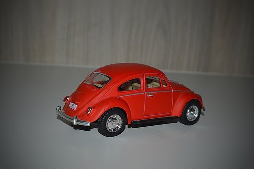 Fusca, Miniature, Volkswagen, Auto, Car, Vw, Toys, Old