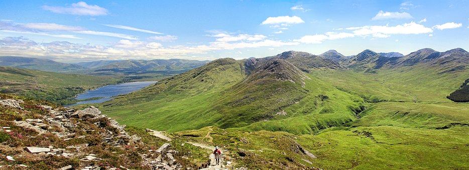 Ireland, Connemara, Mountains, Landscape, Green, Hiking