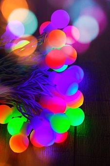 Color, Light Bulbs, Light Bulb, Light, Glow, Christmas