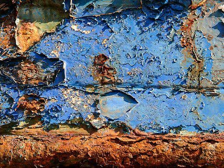 Painting, Rust, Texture, Old, Altered, Metal, Color