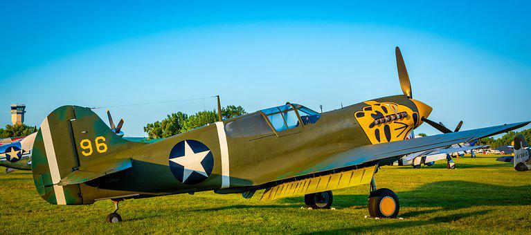 Aircraft, Wwii, Airplane, Military, Propeller, War