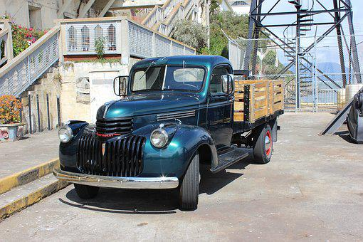 Oldtimer, Truck, Historically, North America, Classic